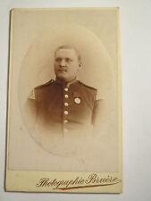 Metz - Diedenhofen - Soldat in Uniform mit Schwalbennester - Orden / CDV