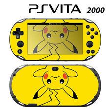 Vinyl Decal Skin Sticker for Sony PS Vita Slim 2000 Pokemon Pikachu 2