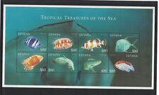 2000 Guyana Fish SG MS 5826/33 Muh