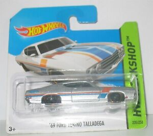 Hot Wheels - 69 Ford Torino Talladega (2014)