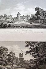 PORTE de CHELLES ET PAVILLON DE LA POMPE RAINCY,LABORDE, 1808, JARDINS DE FRANCE