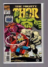 Thor #474 NM Florea - Monsters Of Mogul - Marvel Masterworks Cards