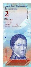 Venezuela 2007 2 Bolivares Currency Unc