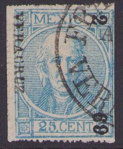 dd33 Mexico #68 25ctv perf, Veracruz 2-69 R4 Sz 1757A est