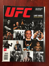UFC Magazine Last Issue Collector's Item Edition (Oct/Nov 2015) Gym Workout