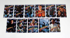 1993 Topps Last Action Hero Sticker Set (11) Nm/Mt Arnold Schwarzenegger