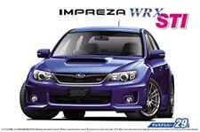 ˇAoshima 52358 The Model Car 29 Subaru GRB Impreza WRX STI '10 1/24 Scale Kit