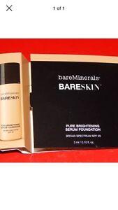 Bare Essentials bareminerals bareskin foundation Sample Bare Sand12