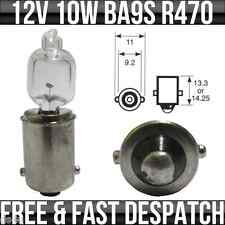 12V 10W BA9S MCC miniatura LAMPADINA ALOGENA R470 x 1
