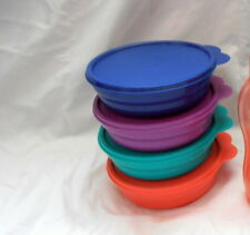 BNIP TUPPERWARE TUPPERCARE EVERYDAY BOWLS limited release colours!!!!