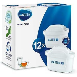 12 Pack BRITA Maxtra+ Plus Water Filter Jug Replacement Cartridges Refills UK