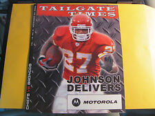 Kansas City Chiefs 11-23 2006 Tailgate Times Gameday Program DENVER BRONCOS