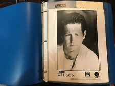 Rare Brian Wilson 1988 Self-Titled Album Promotional Press Release Binder