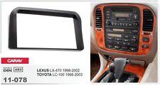 CARAV 11-078 2Din Kit de instalación de radio de coche LEXUS LX-470 TOYOTA LC100