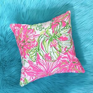 New throw pillow made with LILLY PULITZER Koala Me Maybe fabric