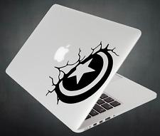 Captain America Sticker Avengers Decal For Apple MacBook Mac iPad Laptop Car 2