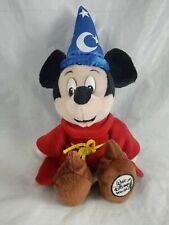 New listing Fantasia Mickey Mouse Sorceror Apprentice Plush Toy Walt Disney World Parks Vtg