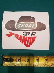 "SKOAL BANDIT - Vintage 1980's  Racing Decal/Sticker NASCAR NHRA 5""x3.5"" 3M vinyl"
