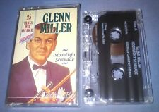 GLENN MILLER MOONLIGHT SERENADE cassette tape album T4730