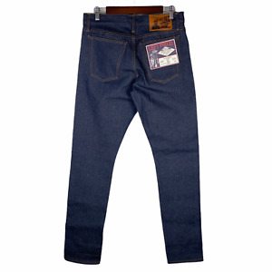 NEW Left Field NYC Charles Atlas Jeans Xinjiang Cotton Dark Wash Size 32 $149
