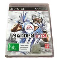 Madden NFL 13 Sony PS3