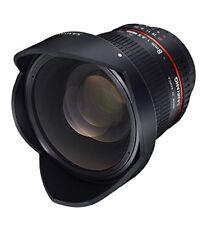 Samyang 8mm F 3.5 ojo de pez objetivo montura Nikon