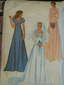 Vintage McCalls Sewing Pattern Beautiful Wedding Dress & Bridesmaids no 3770 s12