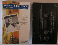 GENE VINCENT AM I THAT EASY TO FORGET CASSETTE TAPE