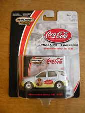 2002 Mattel Coca-Cola Collection Mercedes-Benz ML 430 The Pause that refreshes