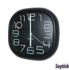 Design Wanduhr, Bürouhr, Küchenuhr wall-clock (017schwarz)