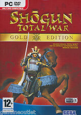 SHOGUN TOTAL WAR GOLD EDITION for (PC DVD) SEALED NEW