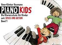 Klavier Noten Schule : Piano Kids Band 1 (Klavierschule Heumann) Anfänger ED8301
