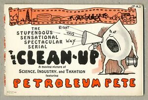 Clean-Up featuring Petroleum Pete 1930 VF 8.0