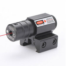 Tactical mini Red Laser sight Picatinny Rail for gun Rifle pistol Glock Scope *