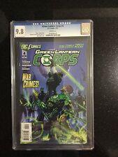 GREEN LANTERN CORPS # 4 / The new 52! / CGC 9.8 / February 2012 / DC COMICS