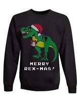 Hanes Boys' Ugly Christmas Sweater Crew Sweatshirt