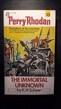 Perry Rhodan #13: The Immortal Unknown: K.H. Sheer, 1972, Ace Books, E-90