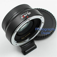 Viltrox Auto Focus Speed Booster Canon EOS Lens to Sony NEX Adapter as Metabones