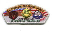 CSP FROM CALIFORNIA INLAND EMPIRE COUNCIL- SA-105- 2004 CAMP- SILVER BDR.