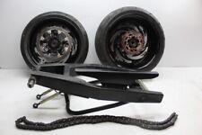 05-06 SUZUKI GSXR1000 FRONT 240 REAR WHEEL RIM STRETCHED SWINGARM STRAIGHT