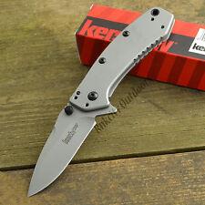 Kershaw Cryo Hinderer 8Cr13MoV Bead Blast Handle Framelock Knife 1555
