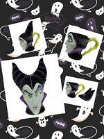 Disney Parks Maleficent Sleeping Beauty Mug With Lid Halloween Sculpted Bust '20