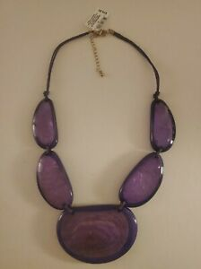 """Style & Co Purple Resin Necklace, 20"""" + 3"""" Extender"""