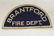 Canadian Brantford Ontario Fire Department Patch