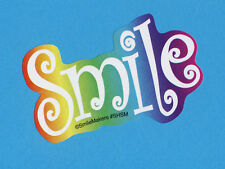 15 Rainbow Smile - Shaped Stickers -  Party Favors - Rewards