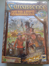 Carcassonne - Gold Rush, Brand New with English Rules