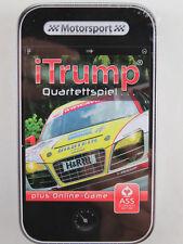 "ASS Altenburger 225 71325 iTrump Quartettspiel ""Motorsport"" plus Online-Game NEU"