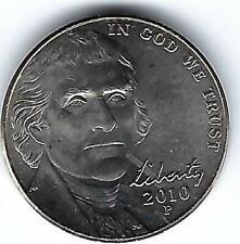 2010-P Philadelphia Uncirculated Jefferson Nickel Five Cent Coin!