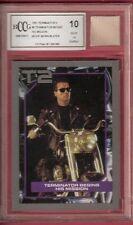 Arnold Schwarzenegger MOVIE WORN BLAZER RELIC PIECE TERMINATOR 2 CARD BECKETT 10