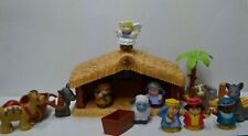 Fisher Price Little People Christmas Nativity Music INCOMPLETE Set